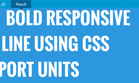 Working With Responsive Images, Text & Icons