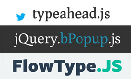 15 More jQuery Plugins To Enhance The Digital World