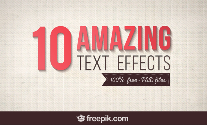 10 Hi Impact Text Effects PSDs