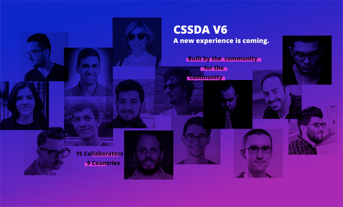 CSSDA V6. A Community Collaboration.