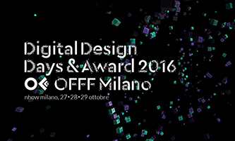 Digital Design Days: Milan, 27-28-29 October