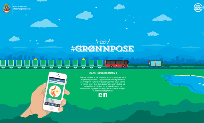 Gronnpose website