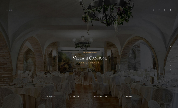 Villa il Cannone website