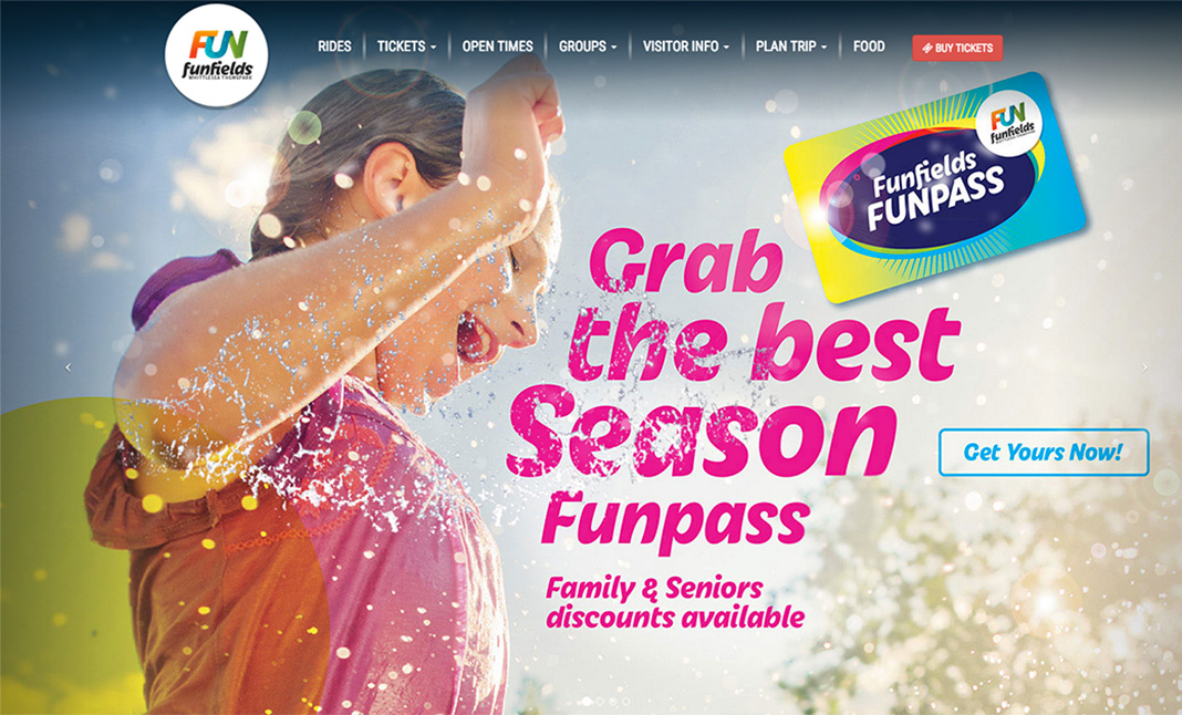 Funfields website