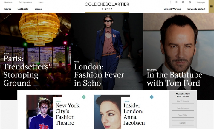 Golden Quarter website