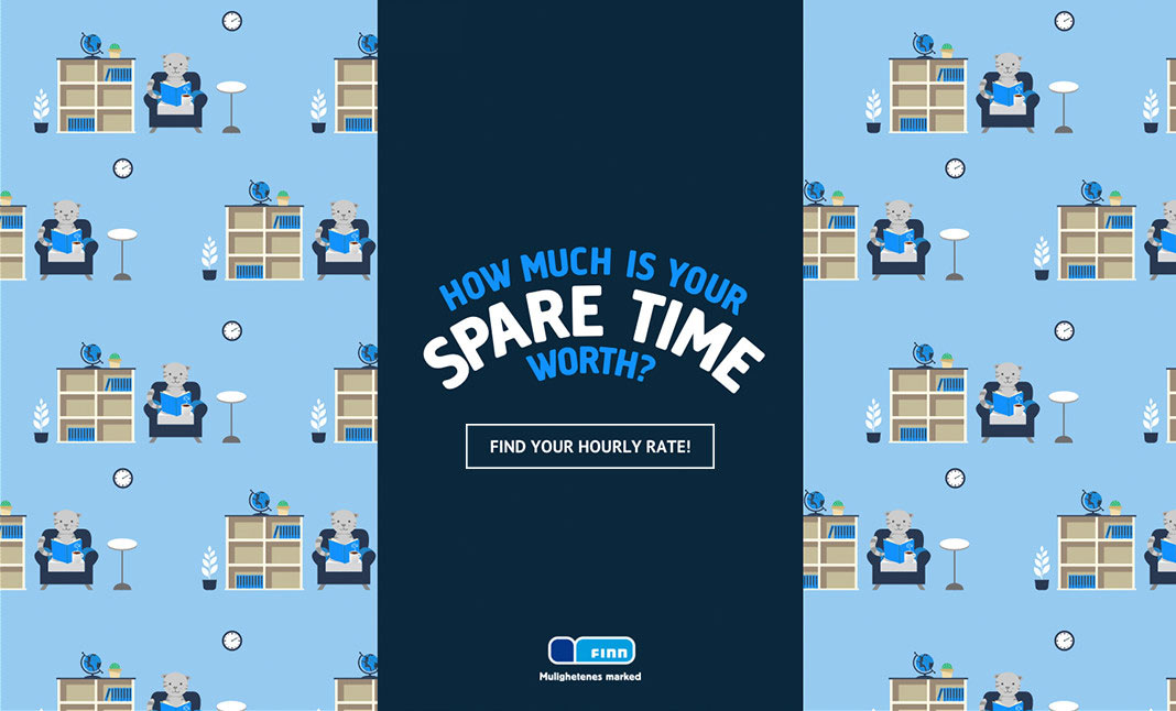 The Spare Time Calculator website