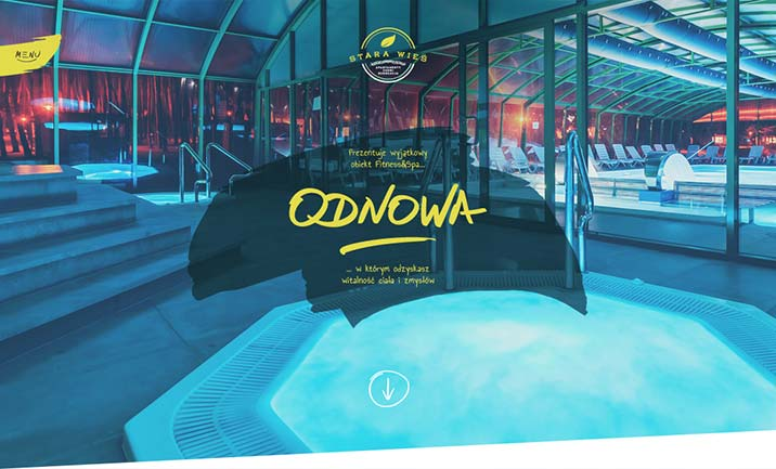 ODNOWA Fitness & SPA website