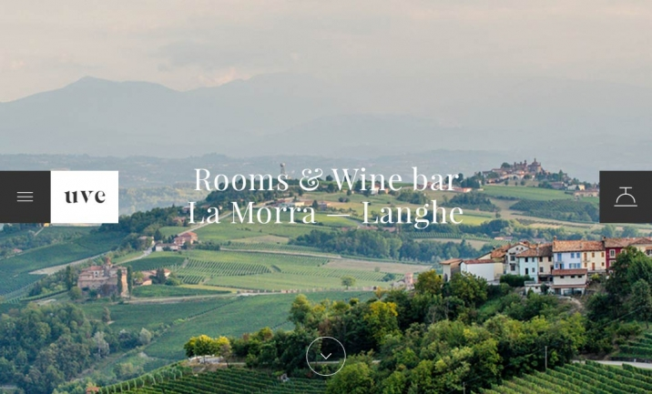 UVE - Rooms & Wine bar website