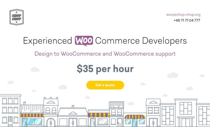 WooCommerce Development website