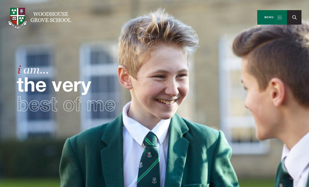 Woodhouse Grove School website