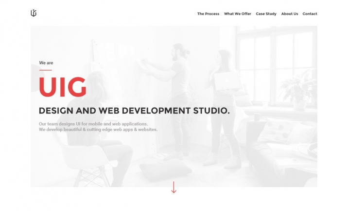 UIG Studio website