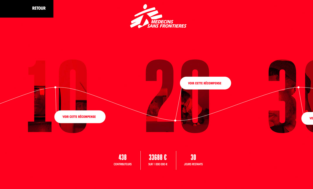 MSF - Independence website