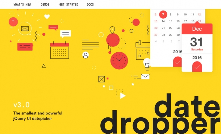 datedropper website