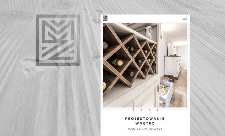 MZ Design website