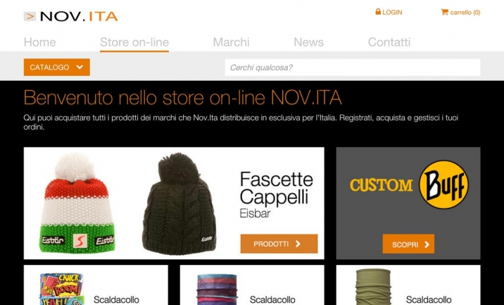 The E-store With Bandana website