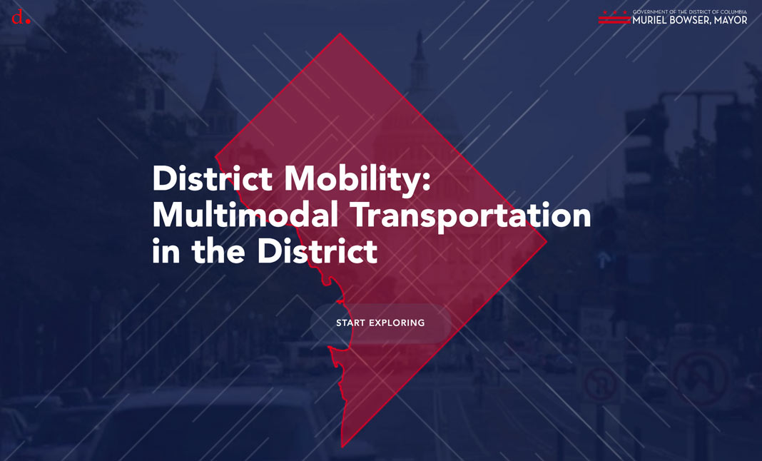District Mobility website