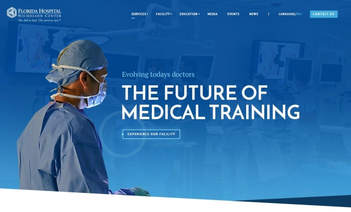 FL Hospital Nicholson Center website