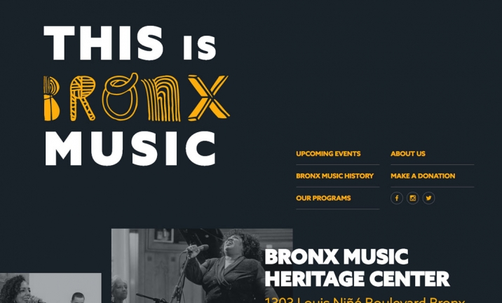 Bronx Music Heritage Center website