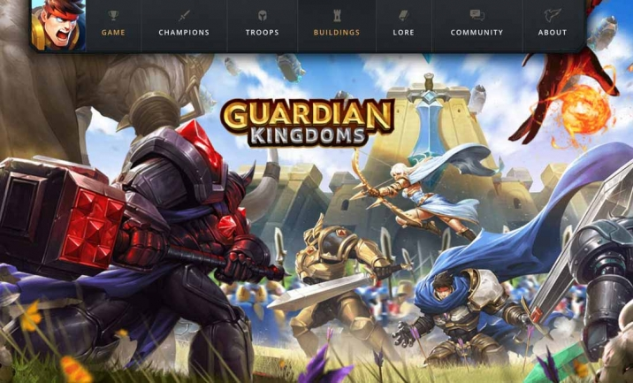 Guardian Kingdoms website
