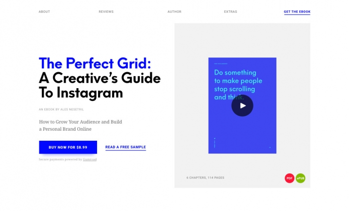The Perfect Grid website