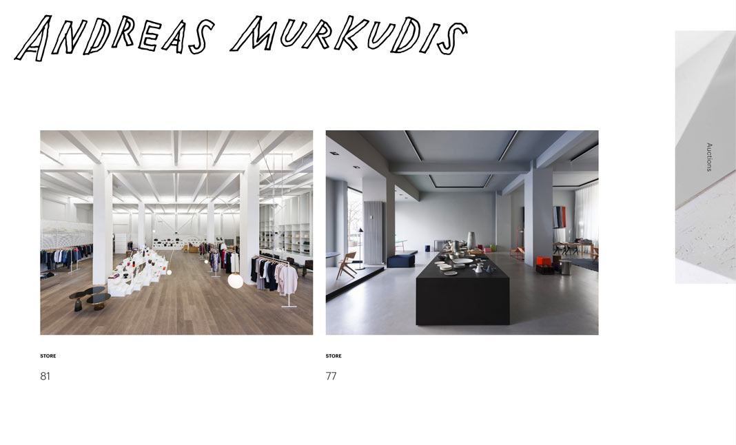 Andreas Murkudis website