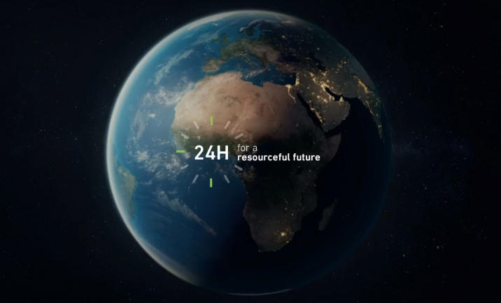24h for a resourceful future website