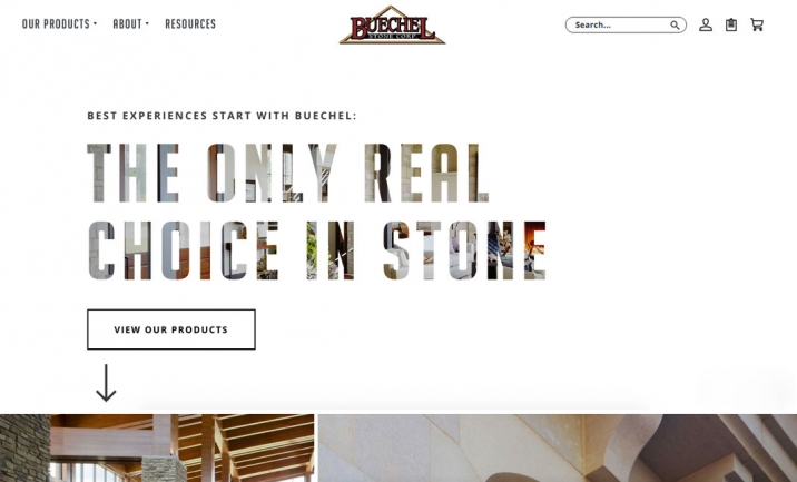 Buechel Stone website