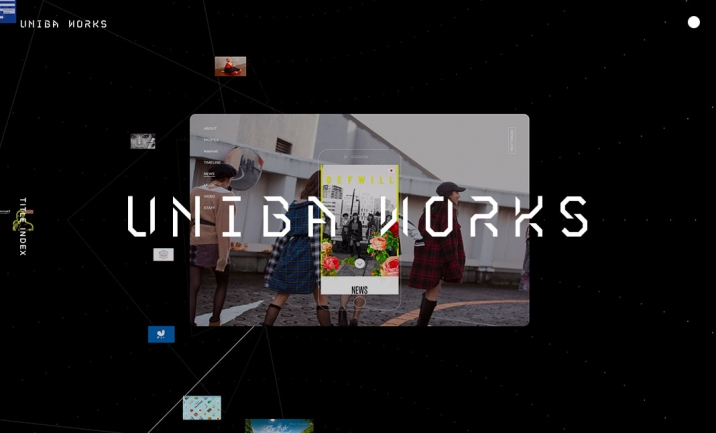 UNIBA WORKS website