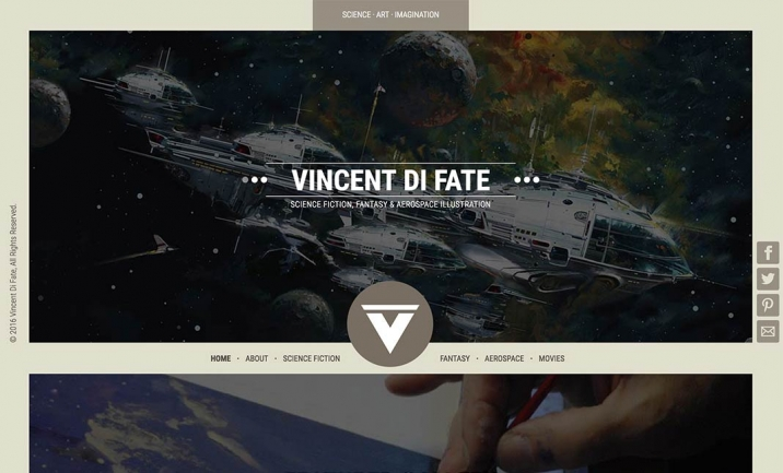 Vincent Di Fate website