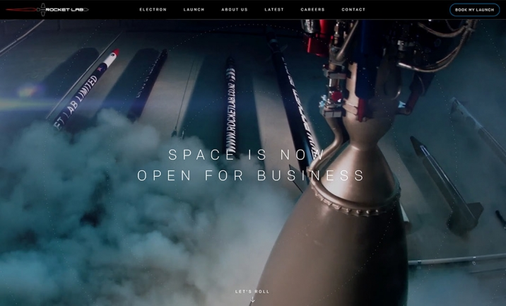 Rocket Lab website