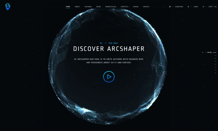 The ArcShapeR website
