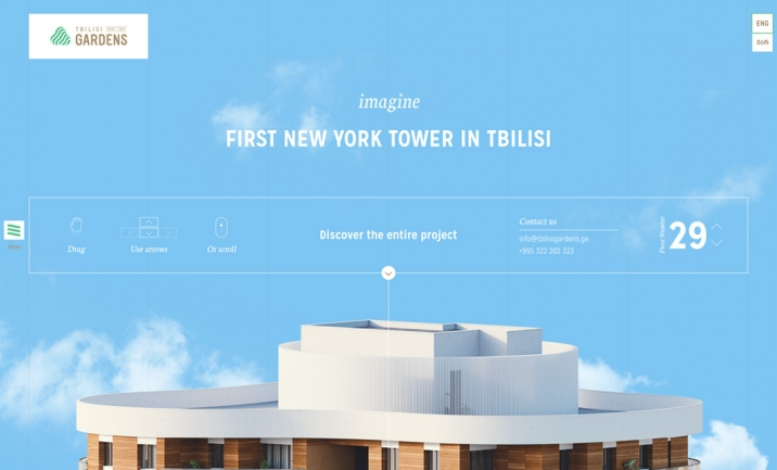 Tbilisi Gardens website