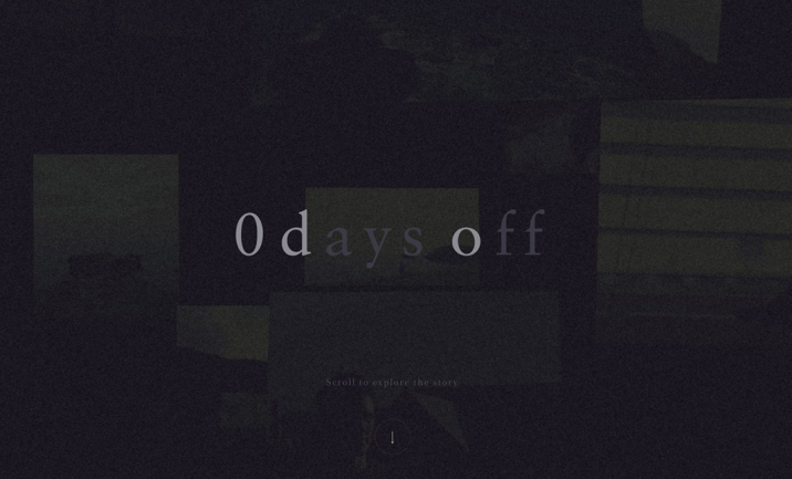 0 days off website
