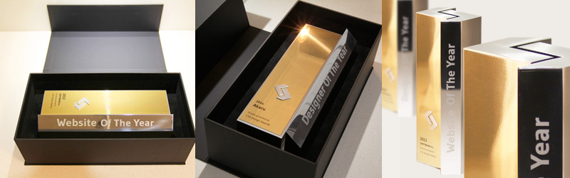 CSS Design Awards Trophies