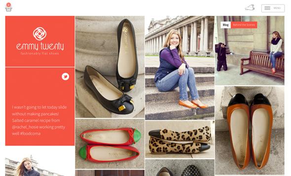 27 Inspirational E Commerce Website Designs
