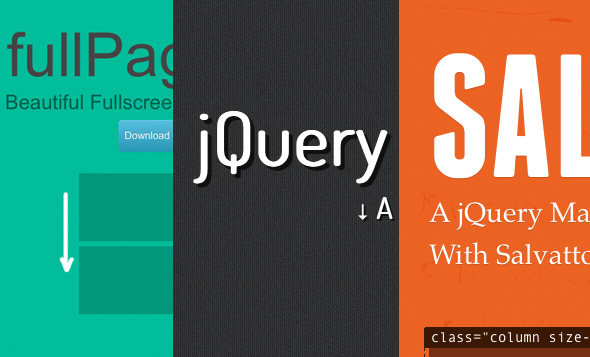 15 Excellent jQuery Plugins To Spice Up Your Sites...