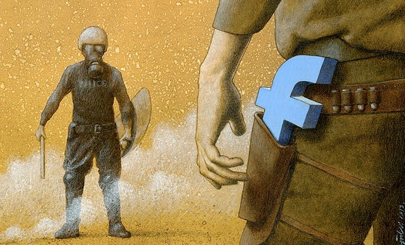 50 Amazing Social Commentary Illustrations