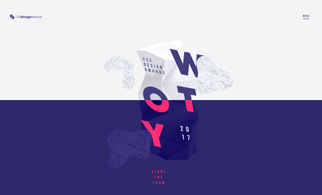 The New WOTY 2017 Showcase Site