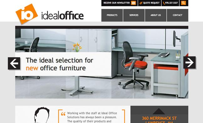 Ideal Office Website