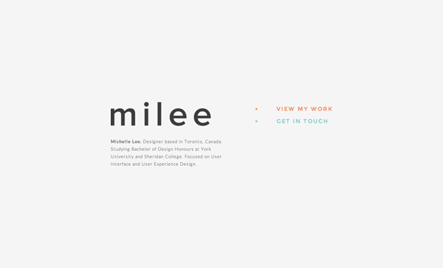 Milee Michelle Lee Design Css Design Awards
