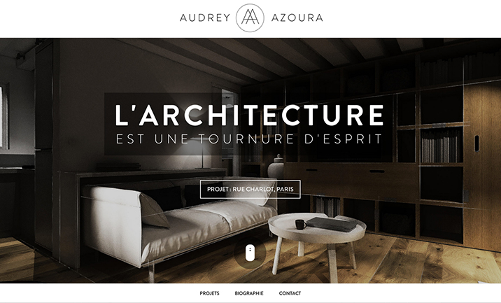 Audrey Azoura website