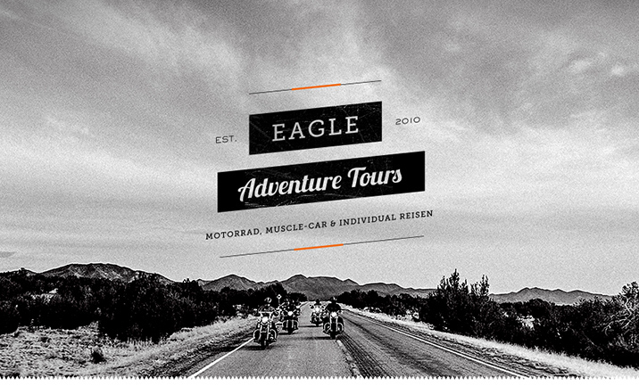 Eagle Adventure Tours website
