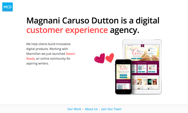 Magnani Caruso Dutton website