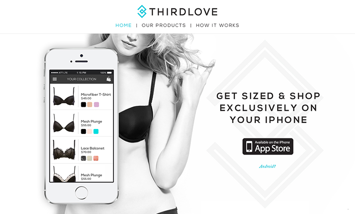 Third Love website