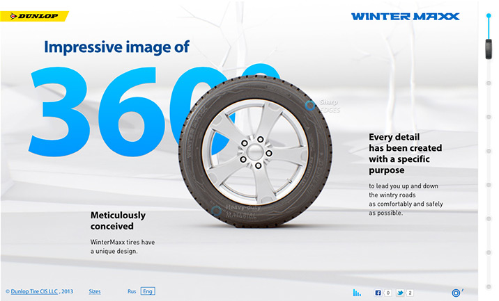 Dunlop WinterMAXX website