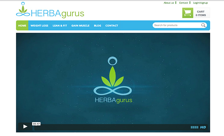 HerbaGurus website