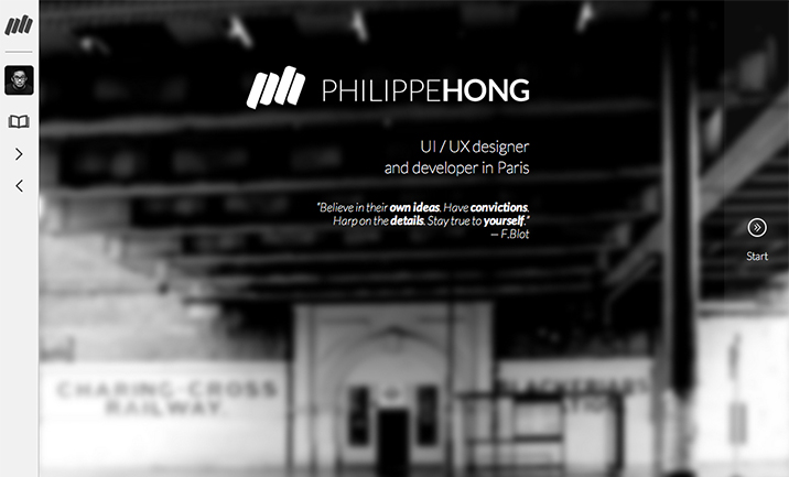 Philippe HONG website