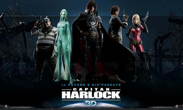 Capitan Harlock website