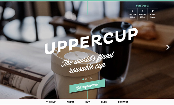 Uppercup website