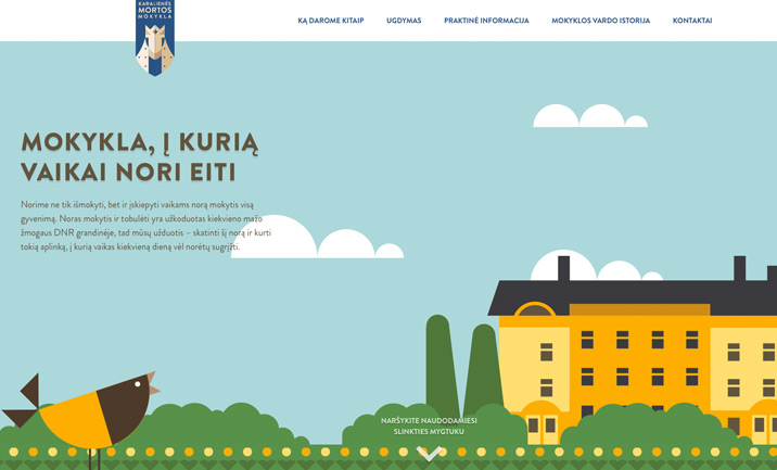 Queen Morta school website